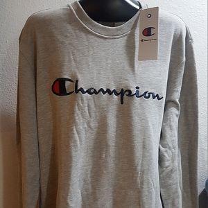 FiNAL PRICE New Champion  crewneck Sweatshirt Mens